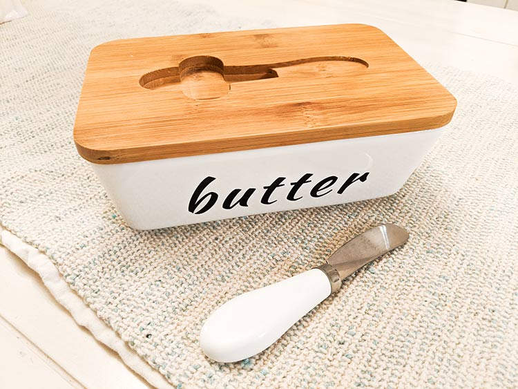 Ceramic Butter Dish from Amazon